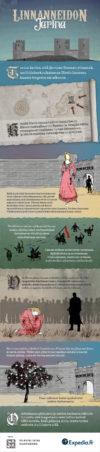 Linnaneidon tarina Infograafi